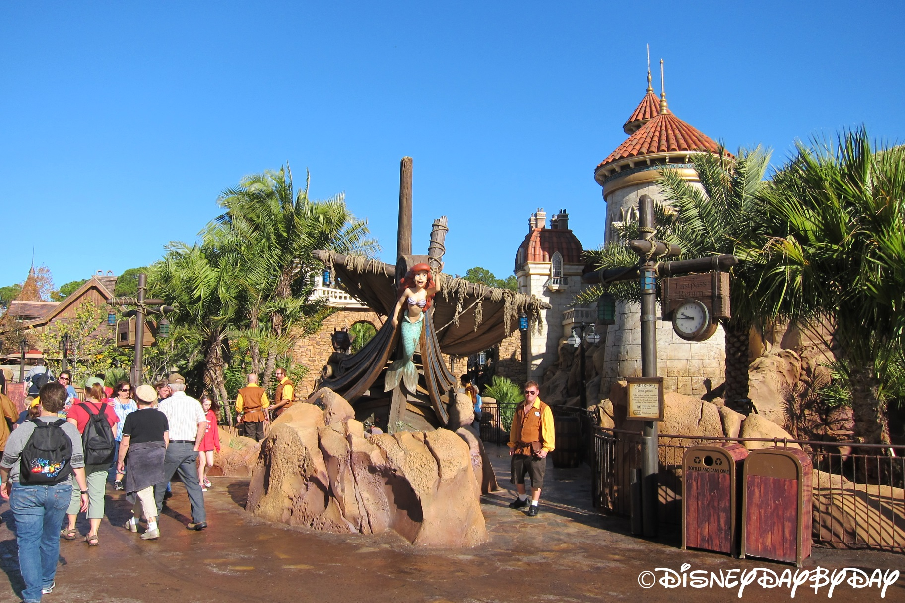 Magic Kingdom Under The Sea Journey Of The Little Mermaid