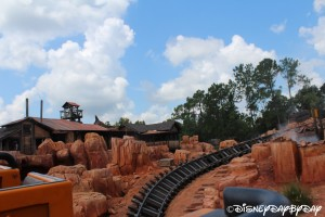 Big Thunder Mountain Railroad 072013 - 1