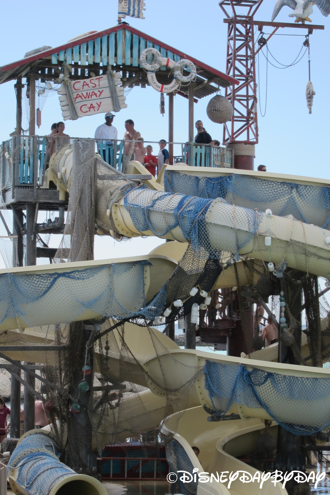 Hidden Mickey Monday: Pelican Plunge at Castaway Cay