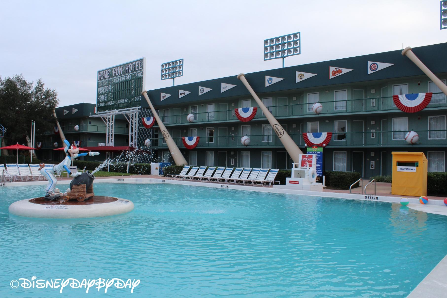 Disney World Lodging All Star Sports Resort Disneydaybyday