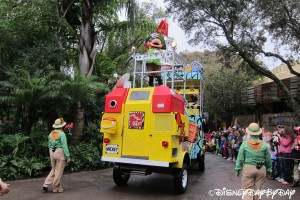 Mickey's Jammin' Jungle Parade 072013 - 35