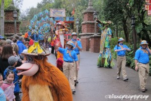 Mickey's Jammin' Jungle Parade 072013 - 9