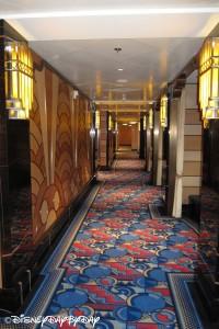 Disney Fantasy Hallway 1