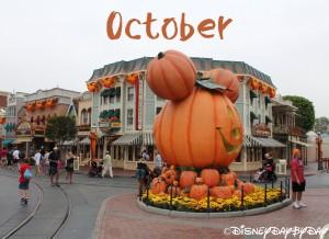 Disneyland October 1