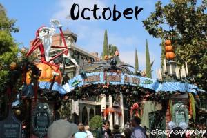 Disneyland October 2