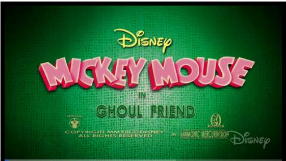 Disney Short – Ghoul Friend