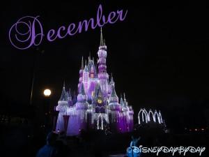 Disney December Calendar 1
