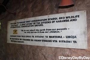 Animal Kingdom - Pangani Forest Exploration Trail 7