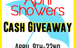 April Showers Cash #Giveaway