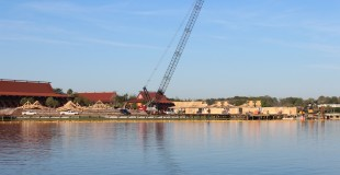 Polynesian Resort and Ferry Dock Construction