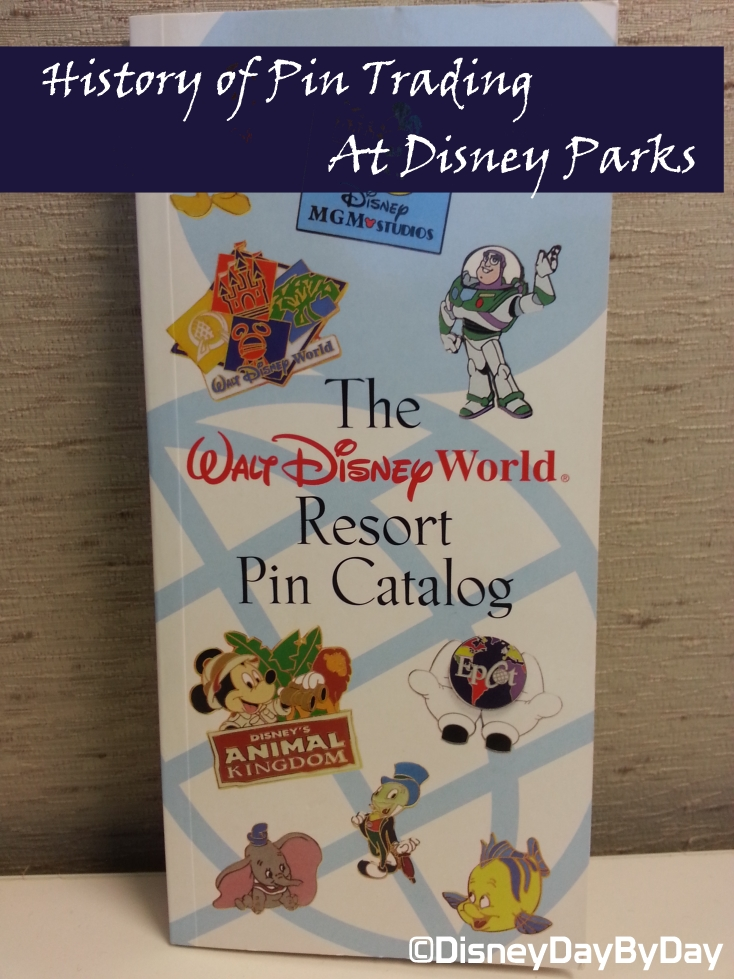 History of Pin Trading at Disney - DisneyDayByDay