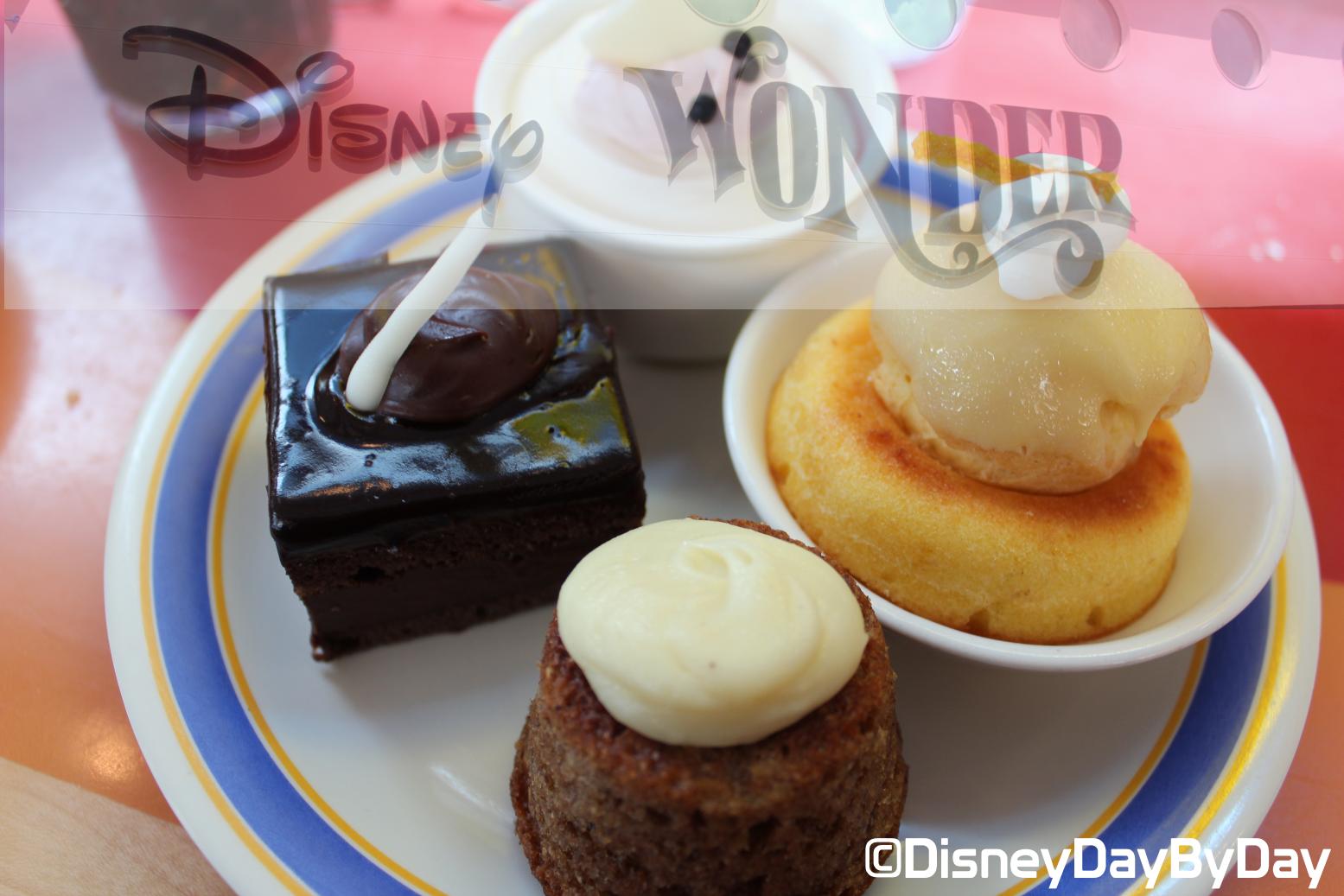 Favorite Food Friday: Disney Wonder Desserts
