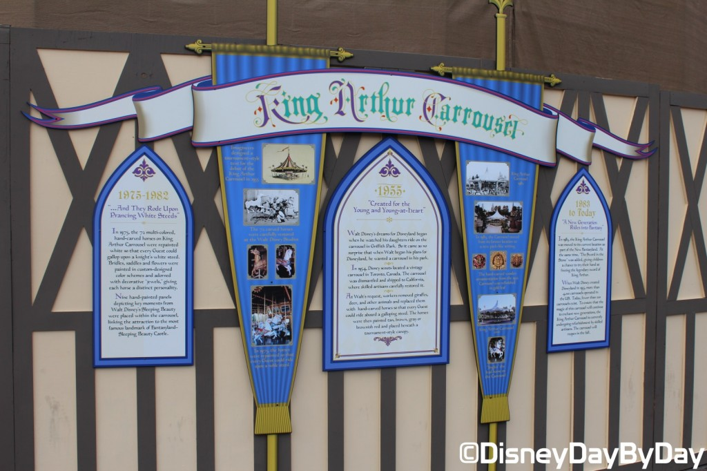 Disneyland - King Arthur Carrousel - DisneyDayByDay 1