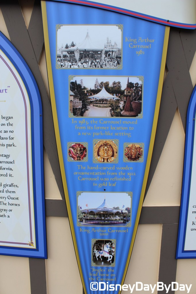 Disneyland - King Arthur Carrousel - DisneyDayByDay 3