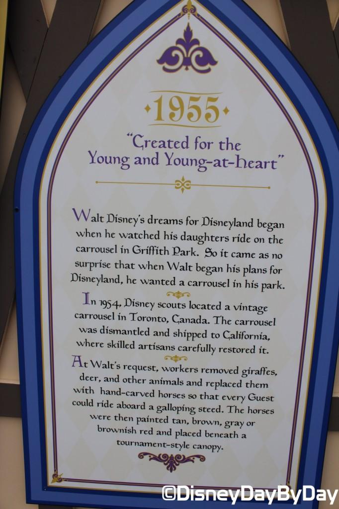 Disneyland - King Arthur Carrousel - DisneyDayByDay 4