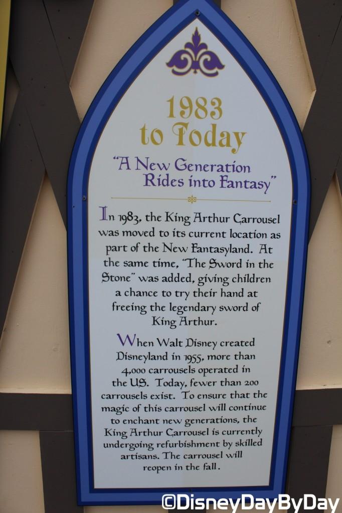 Disneyland - King Arthur Carrousel - DisneyDayByDay 6