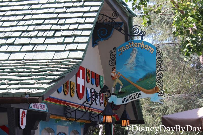 Matterhorn Bobsleds - DisneyDayByDay