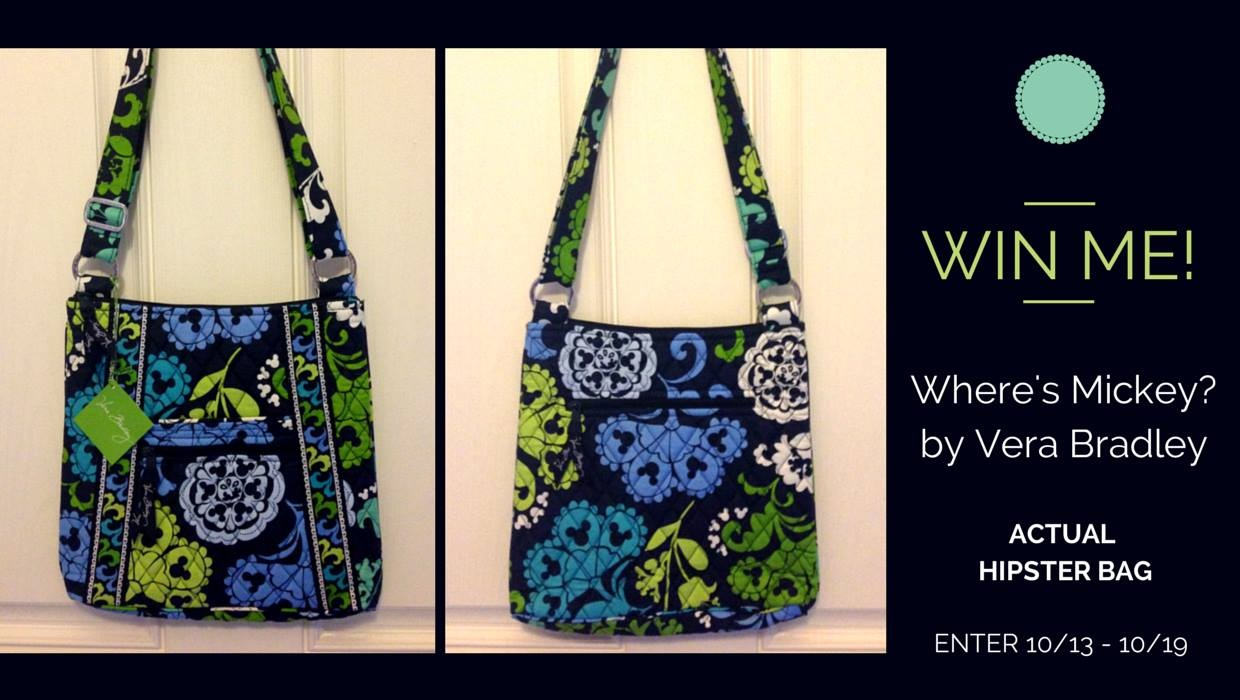 Vera Bradley - Where's Mickey 1- DisneyDayByDay