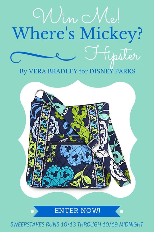 Vera Bradley - Where's Mickey - DisneyDayByDay