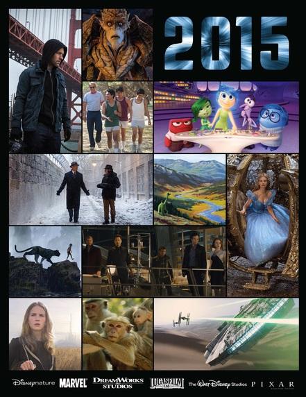 2015 Walt Disney Motion Picture Release Dates