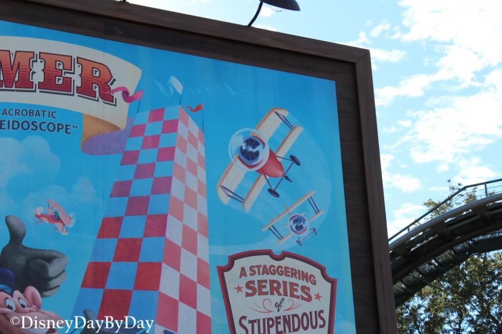 Hidden Mickey - Barnstormer -1- DisneyDayByDay