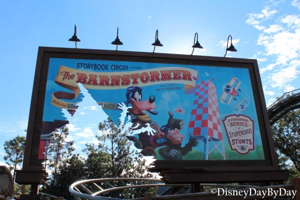 Hidden Mickey - Barnstormer - DisneyDayByDay