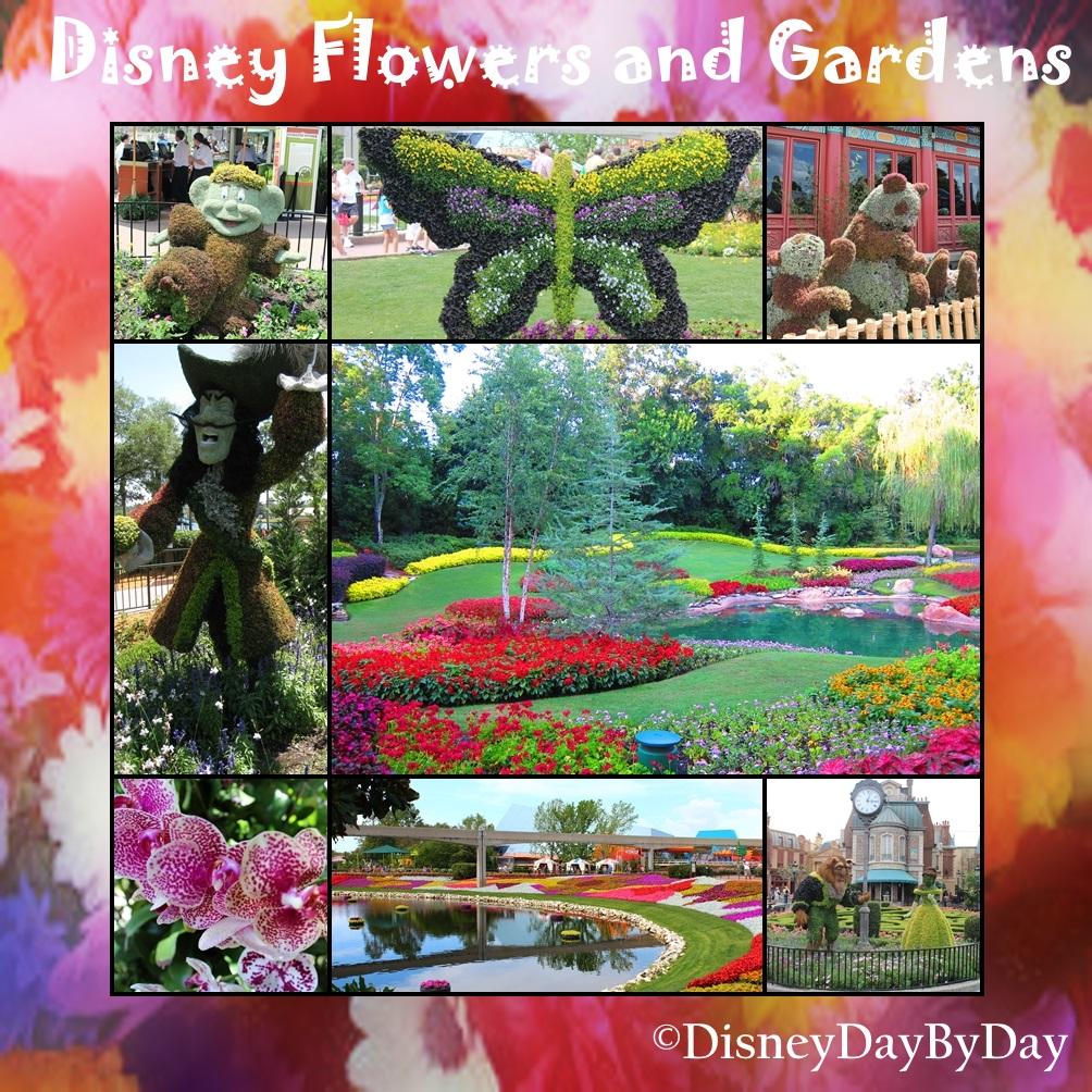 Disney Flower and Garden - DisneyDayByDay