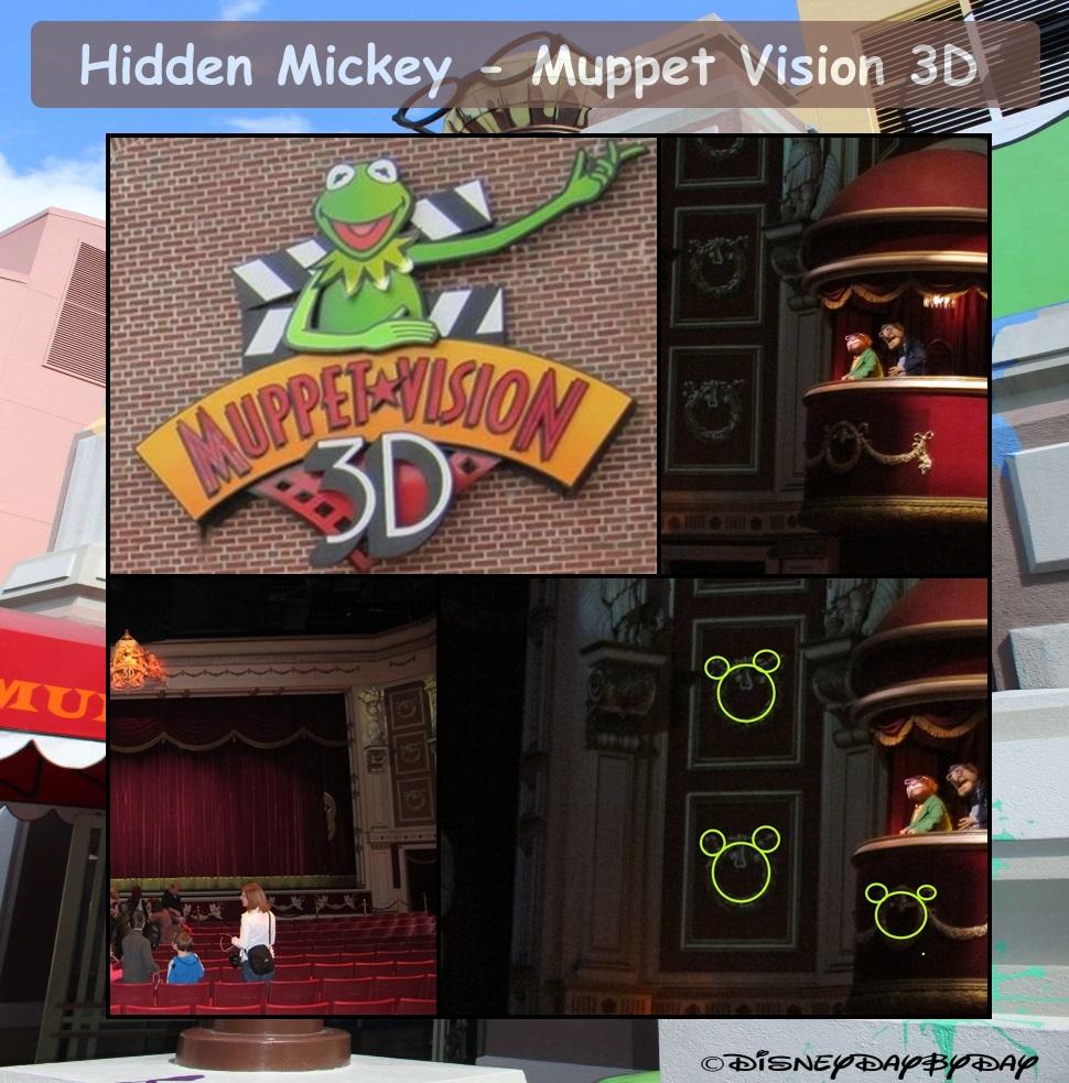 Hidden Mickey – Muppet Vision 3D