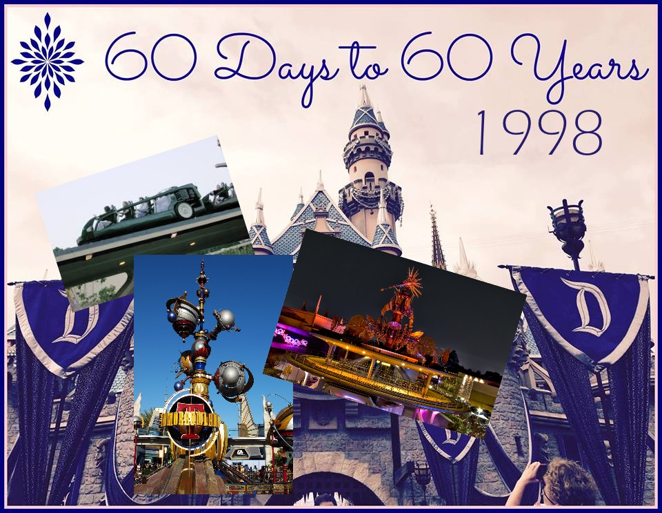 Disneyland Welcomes New Tomorrowland in 1998 – 60 Days to 60 Years
