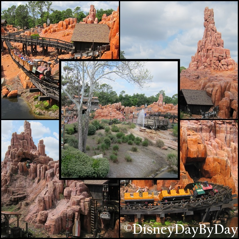 Big Thunder Mountain - DisneyDayByDay