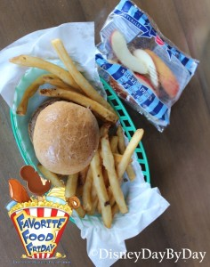 Disneyland - Hungry Bear - Kid's Hamburger