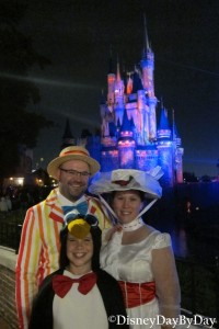 Disney Halloween - Mary Poppins - Bert - Penguin - 1 DisneyDayByDay