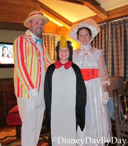 Disney Halloween - Mary Poppins - Bert - Penguin - DisneyDayByDay