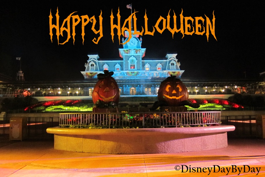 Happy Halloween - Walt Disney World - DisneyDayByDay