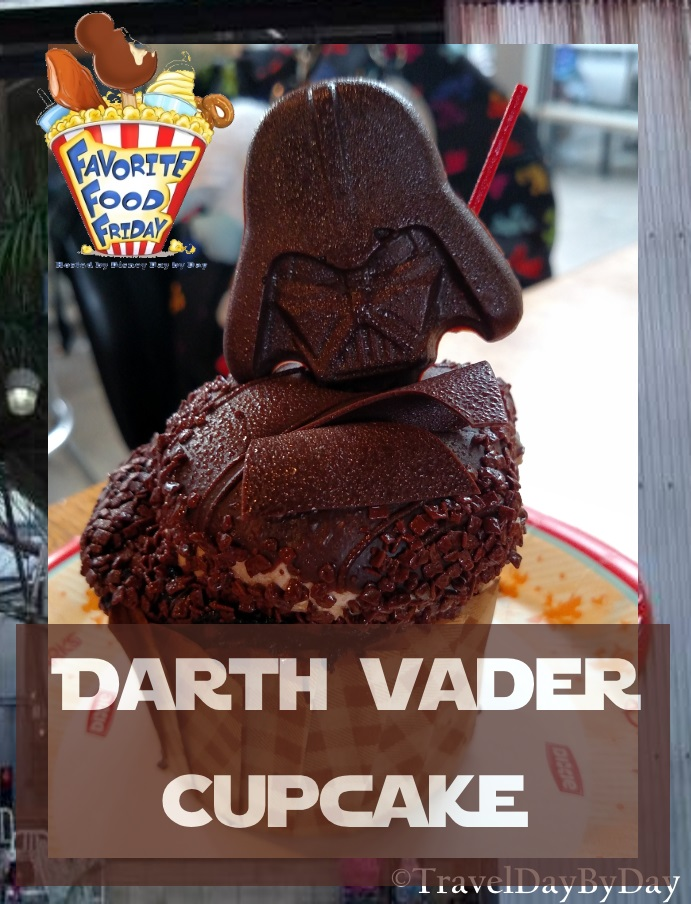 Darth Vader Cupcake - Favorite Food Friday - TravelDayByDay