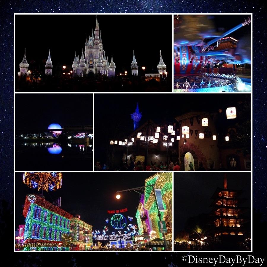 Disney At Night - DisneyDayByDay